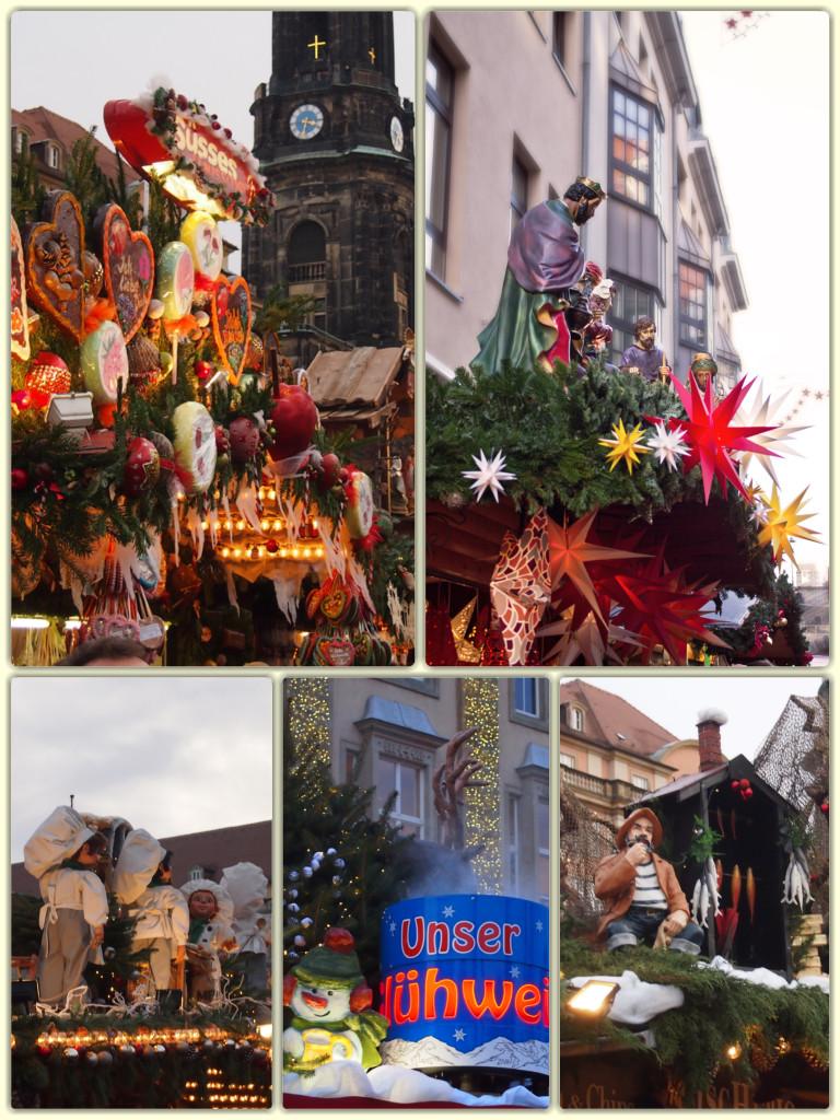 Kaum ein deutscher Weihnachtsmarkt ist so schön dekoriert wie der Striezelmarkt.