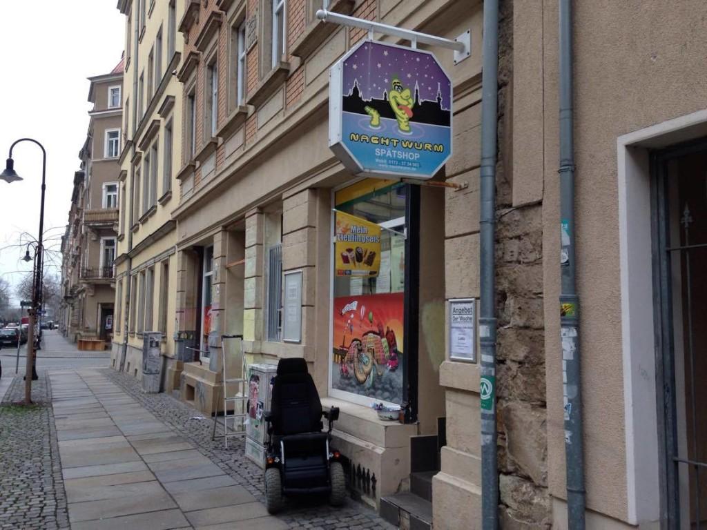 In und um das Hechtviertel findest du viele kleinere Läden und Spätshops