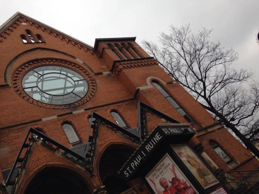 Die St. Pauli Kirche dient seit Mitte der 90er als Kultur- und Begenungsstäte