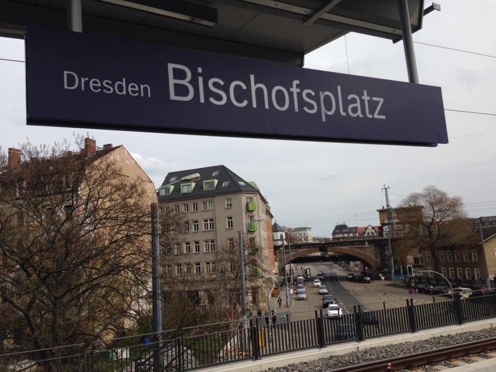 Seit dem 25. März 2016 hält nun auch die S-Bahn direkt im Hecht am Bischofsplatz