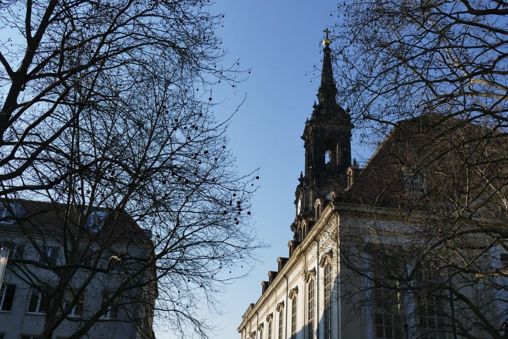 Die restaurierte Dreikönigskirche beherbergt heute auch zahlreiche Veranstaltungen
