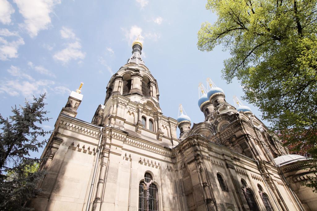 Religion spielt auch im Stadtteil Dresden Südvorstadt eine Rolle