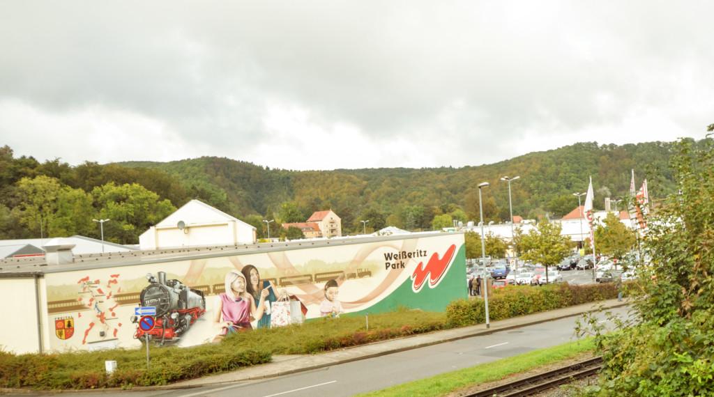 Der Weißeritz Park im Stadtteil Hainsberg ist ein sehr beliebtes Ausflugsziel