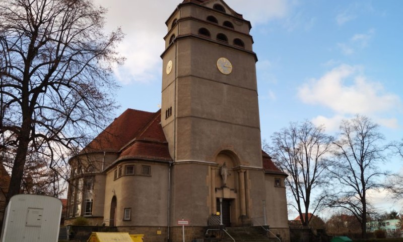 Die Heilandskirche in Cotta