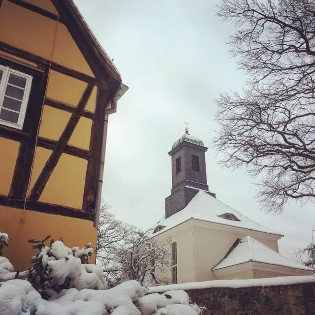 Alte Kirche in Altklotzsche