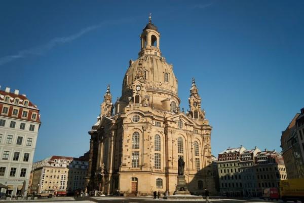 Die Frauenkirche kann besichtigt werden.