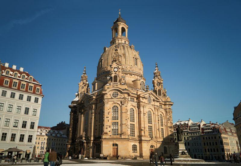 Die Frauenkirche in Dresden kann kostenlos besichtigt werden.