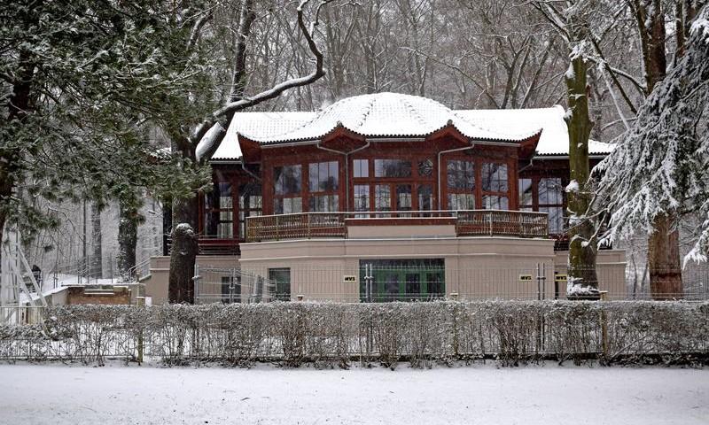 Der chinesische Pavillon- das einzig original erhaltenen chinesische Bauwerk in Deutschland