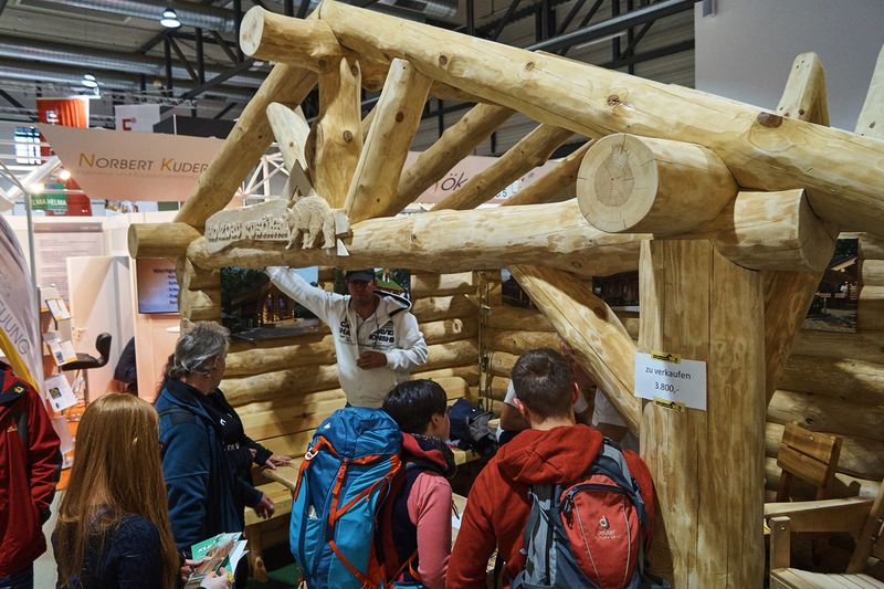 Rustikaler Holzbau