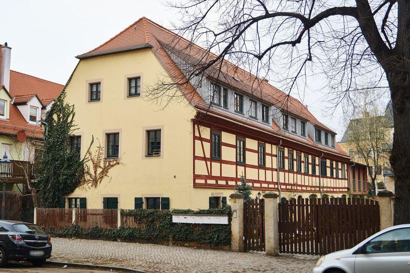 Fachwerkbau in Altpieschen