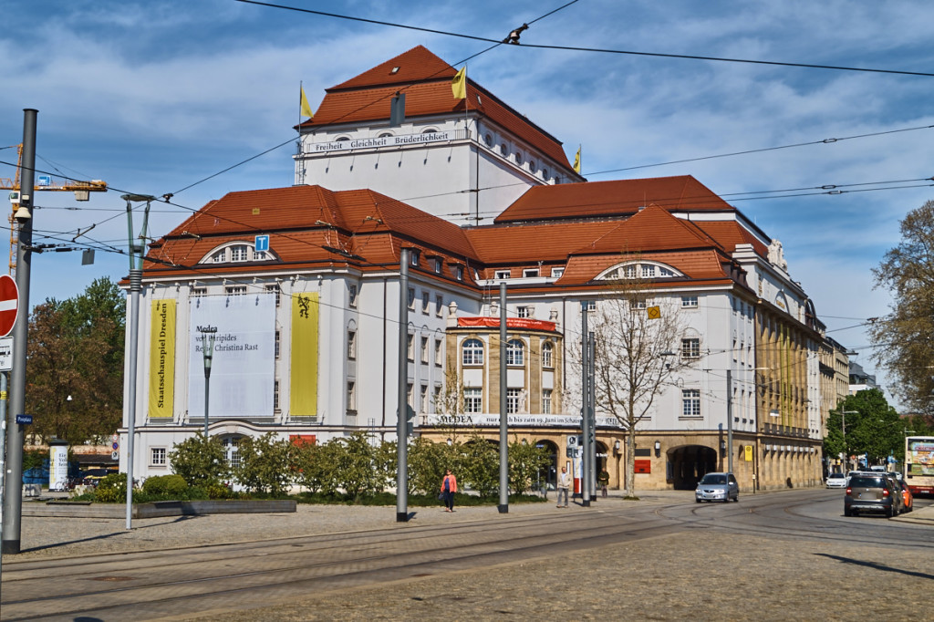 Das Staatsschauspielhaus vereint Jugendstil und neobarocke Elemente