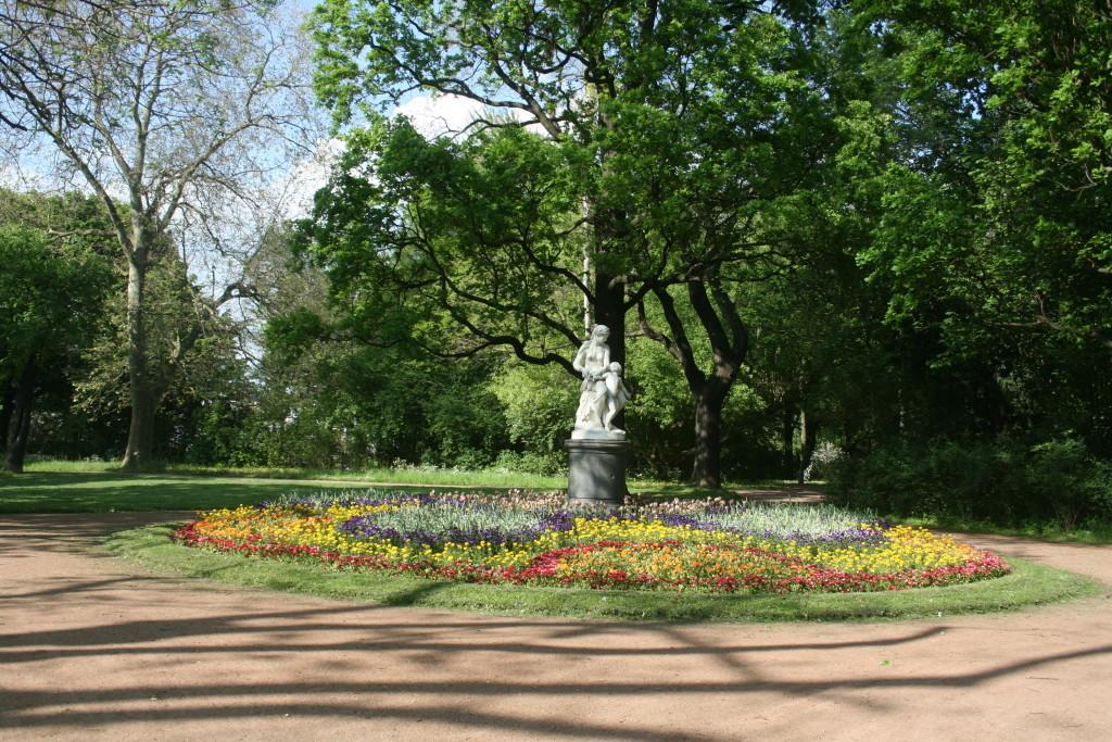 Entspannen kann man im Großen Garten super.