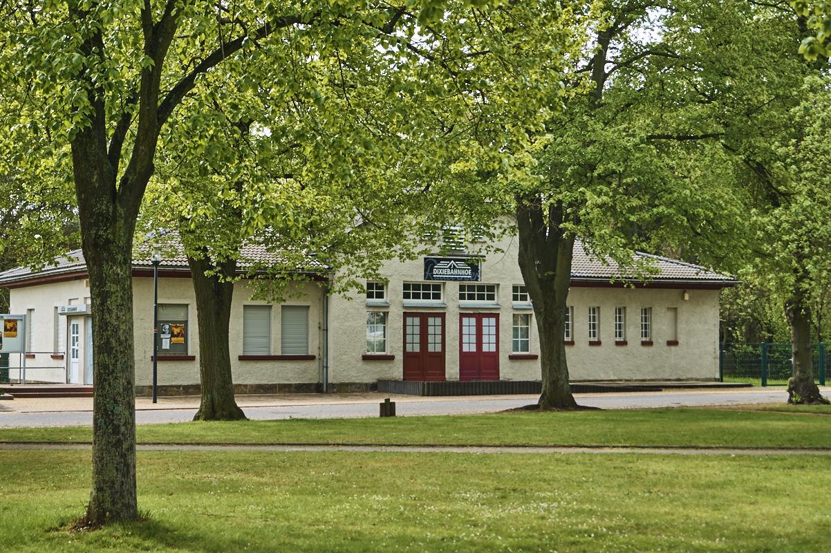 Der Dixiebahnhof ist kultureller Treffpunkt des Stadtteils
