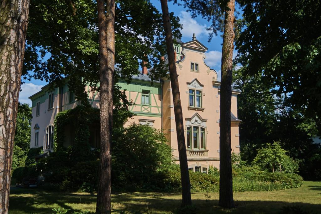In Kleinzschachwitz finden sich viele Villen, wie die Therese Malten Villa