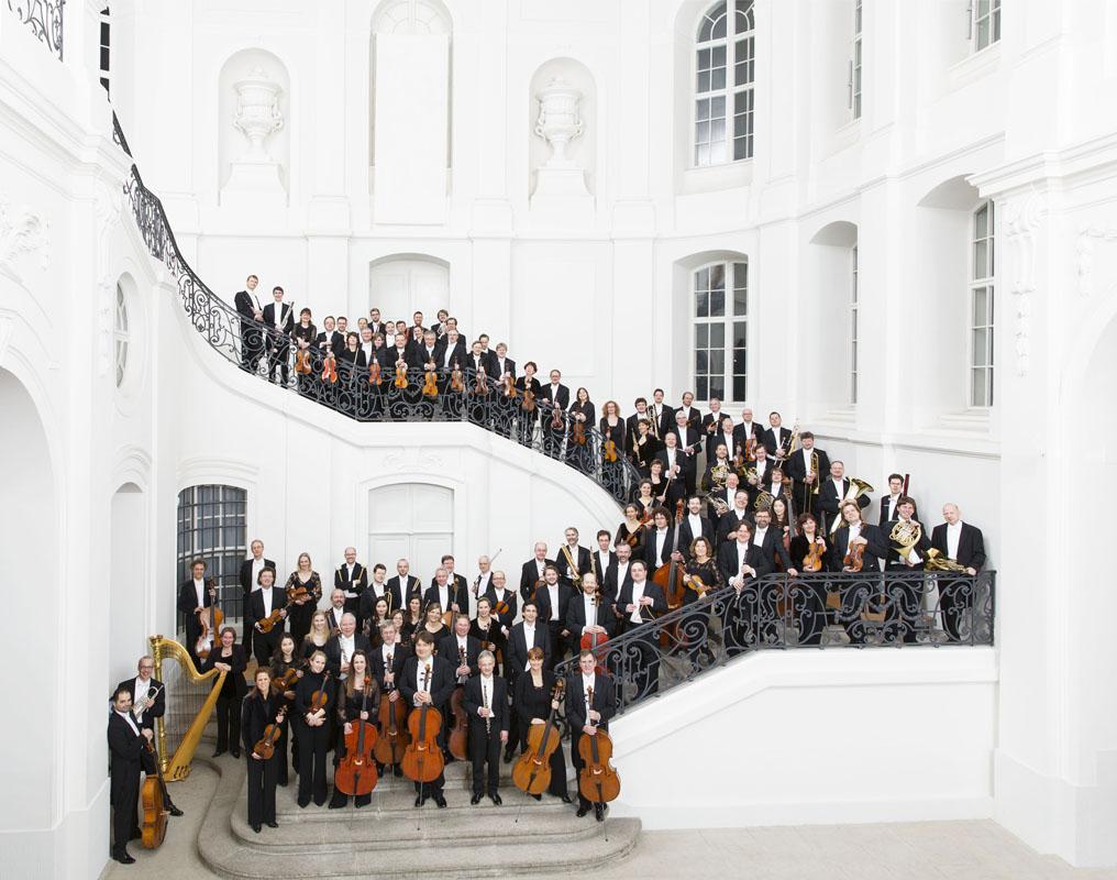 Die Dresdner Philharmonie spielt natürlich auch an den Musikfestspieltagen. Foto von Marco Borggreve.