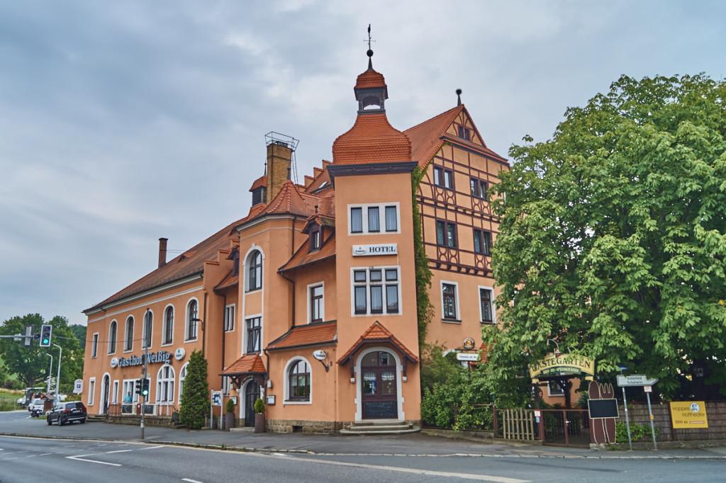 Der Gasthof Weißig