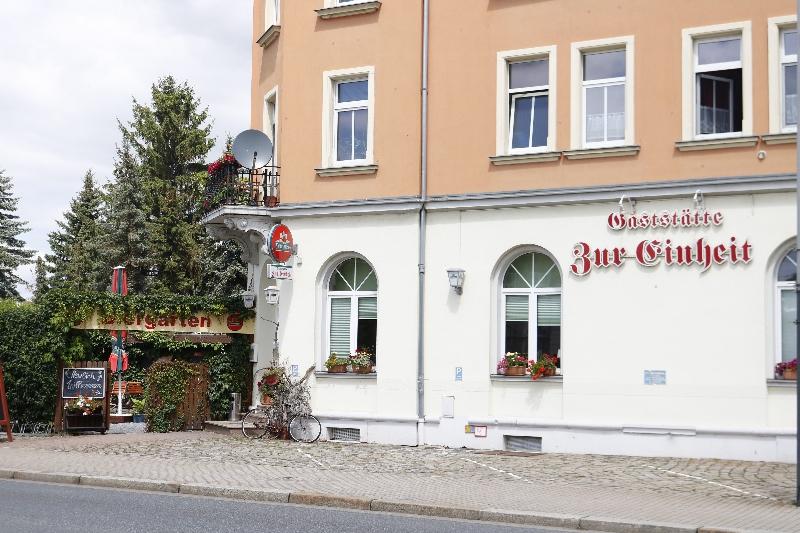 """Gaststätte """"Zur Einkehr"""" am Rieglerplatz."""