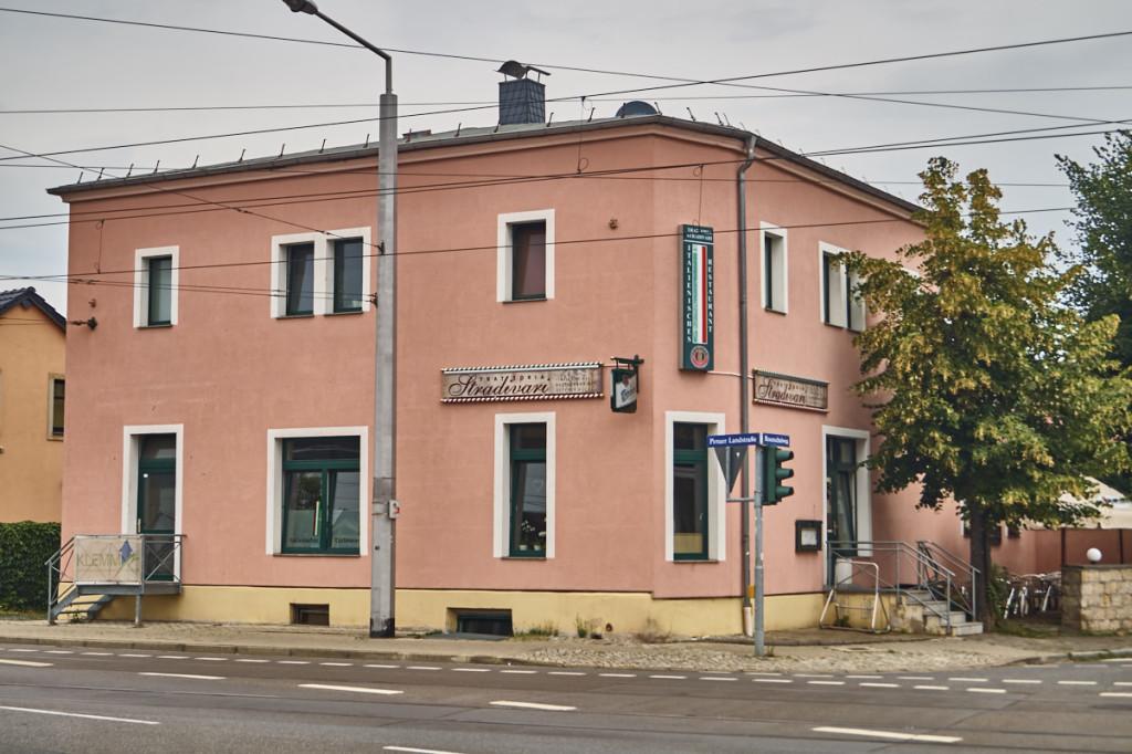 Das italienische Restaurant Stradivari in Leuben