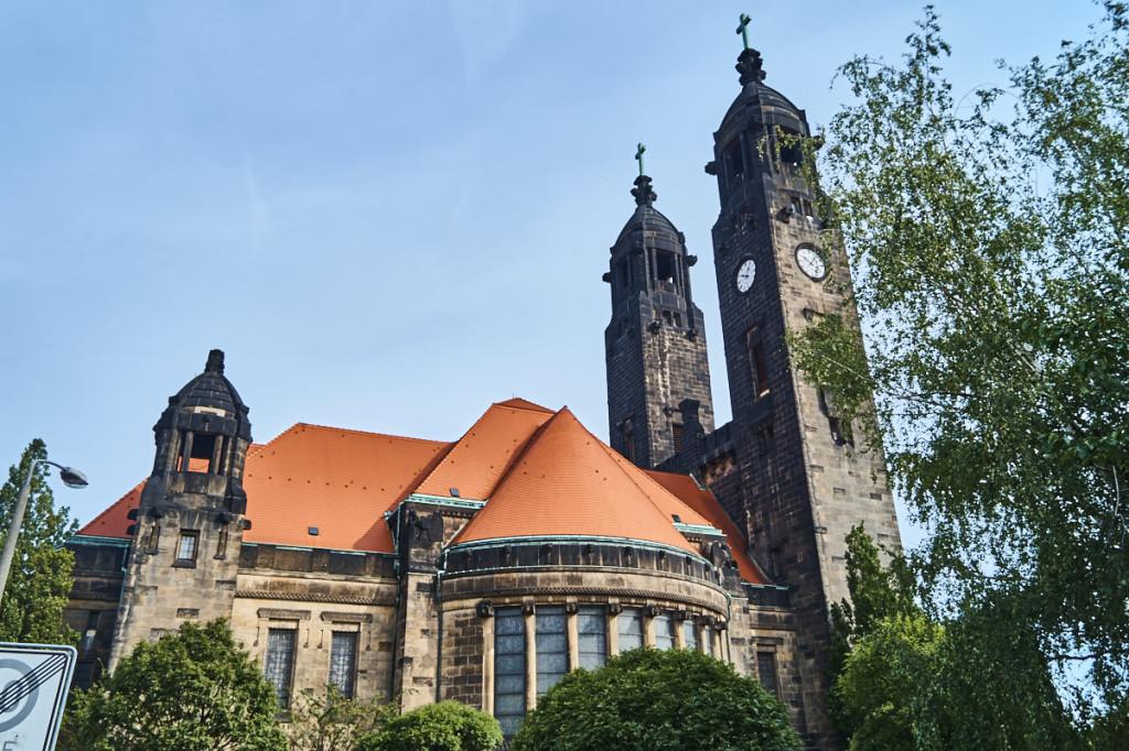 Christuskirche im Stil der Reformarchitektur