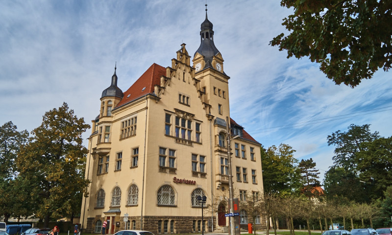 Rathaus Niedersedlitz Sparkasse