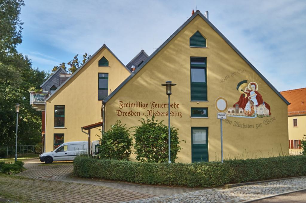 Haus der Freiwilligen Feuerwehr Niedersedlitz.