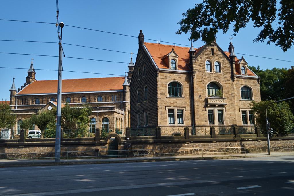 In Tolkewitz findet man eines der Dresdner Wasserwerke.