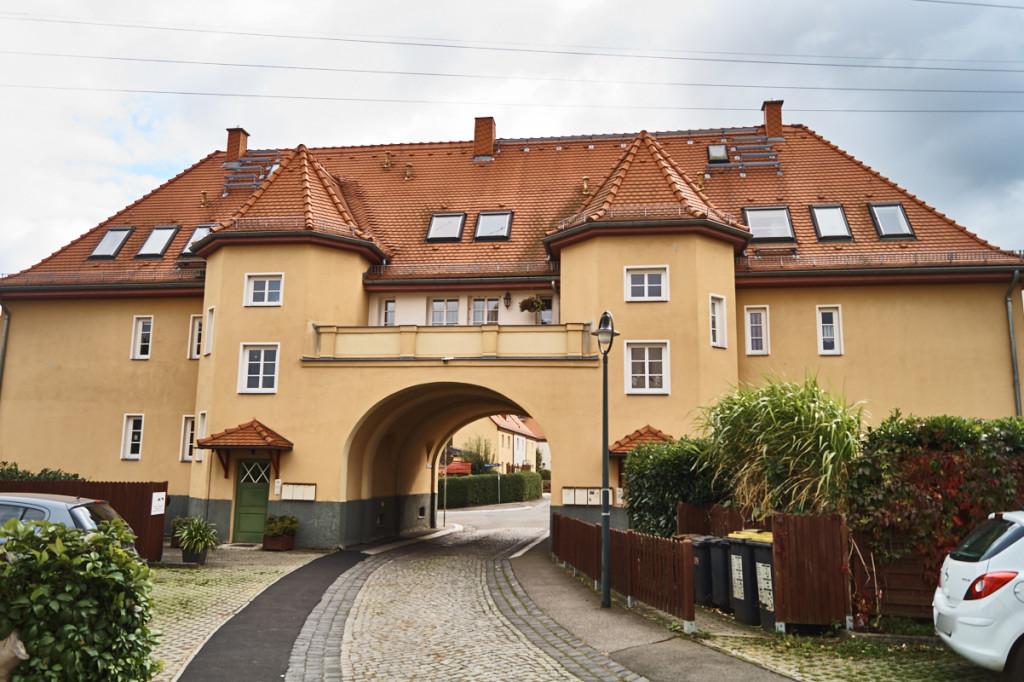 Das Torhaus in Wölfnitz ist eines der imposanteren Gebäude.