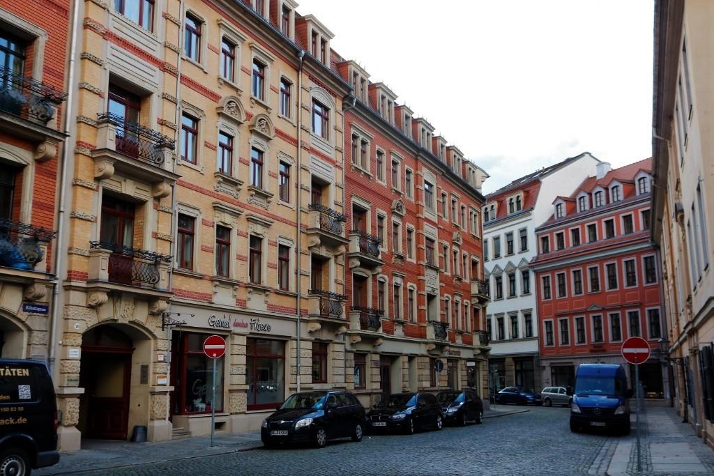Im Barockviertel von Dresden findest du die verschiedensten Galerien!