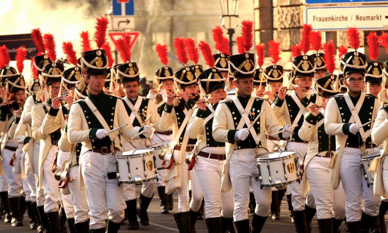 Der Dresdner Festumzug ist immer wieder schön anzusehen!