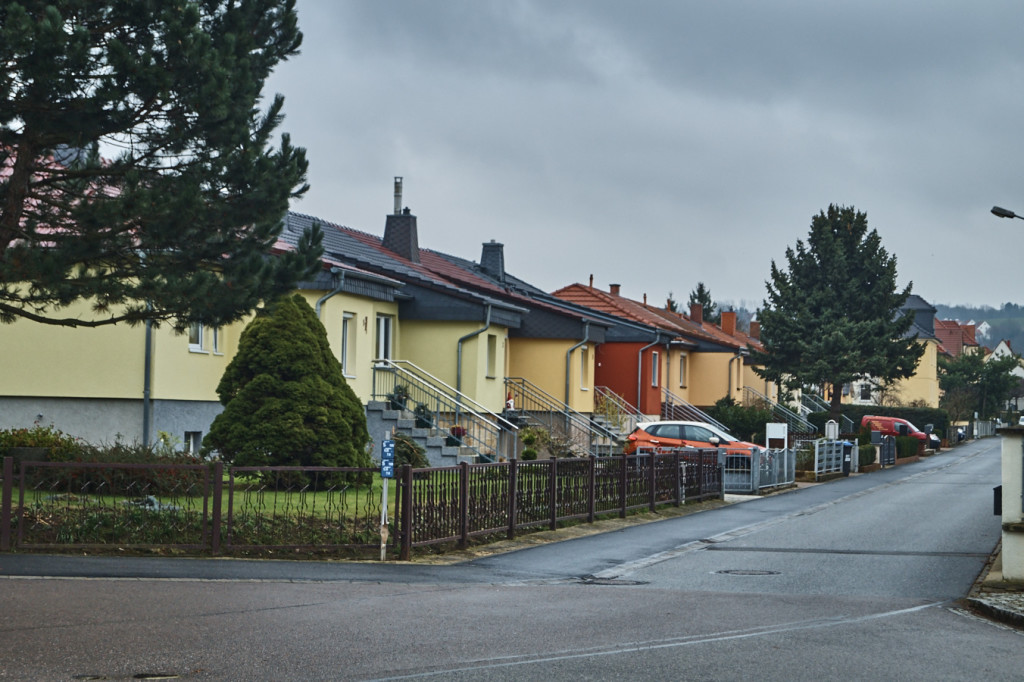 Grüner Weg in Gohlis
