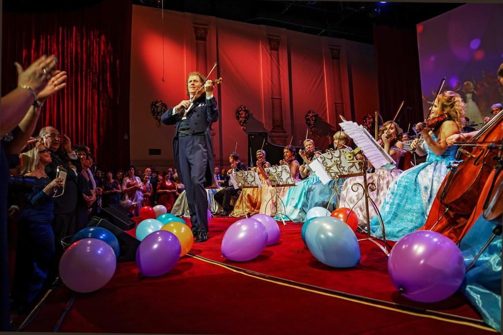 ©PR André Rieu und sein Johann Strauss Orchester wird viele Zuschauer begeistern!