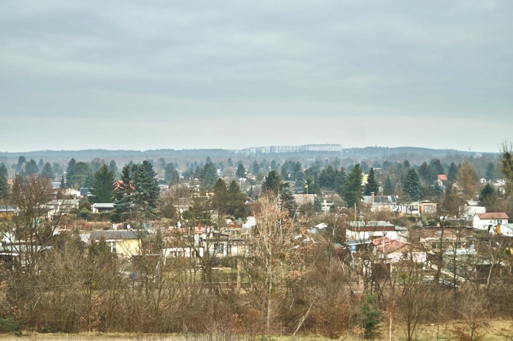 Aussicht auf die Hellersiedlung am Hellerblick