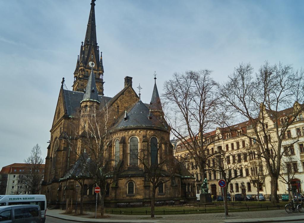 Martin Luther Kirche in der Äußeren Neustadt