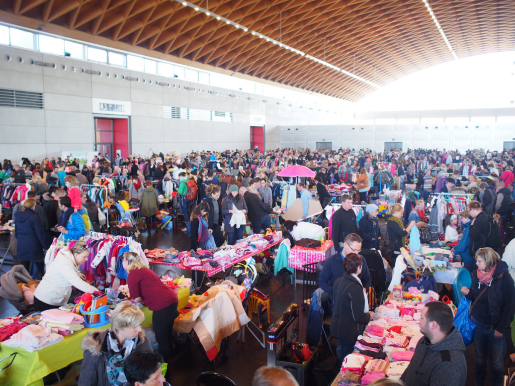 ©PR Die Flohmärkte, wie der Hosenscheißer Flohmarkt sind immer gut besucht!
