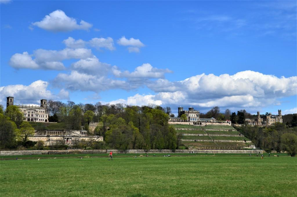 Die Schlösserlandschaft - Schloss Eckberg, Schloss Albrechtsberg und das Lingner Schloss