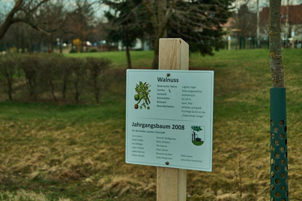 Naturpfad in Pennrich