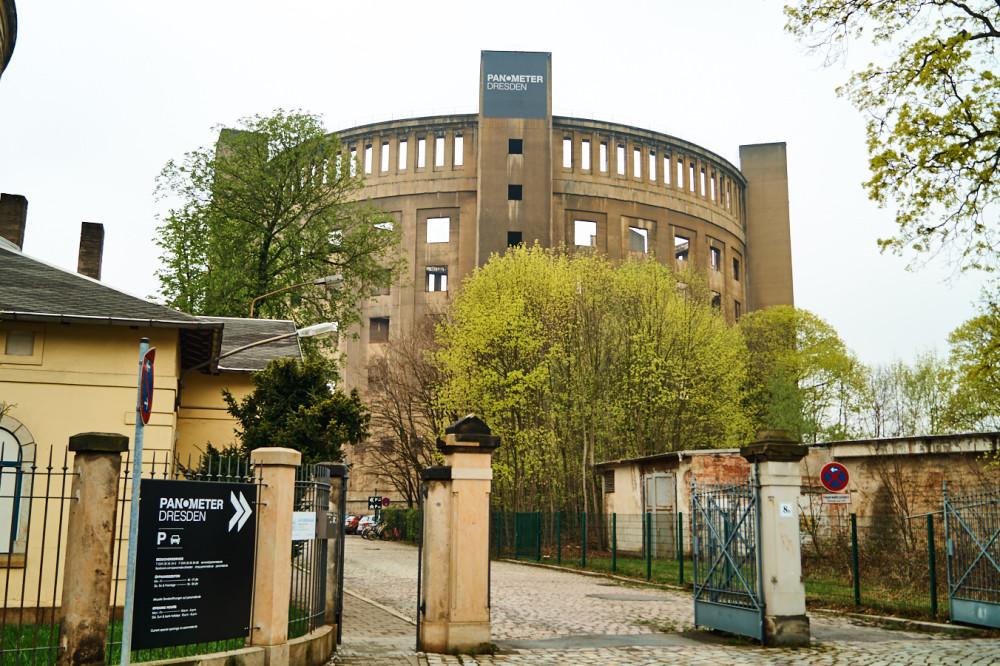 Panometer Dresden in Seidnitz