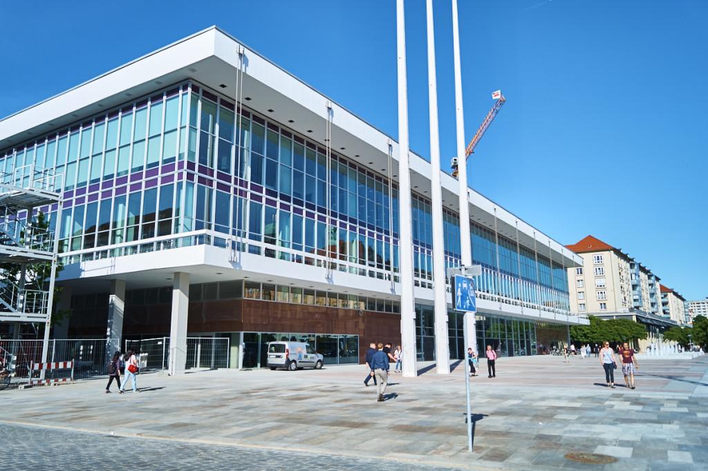 Im Kulturpalast findest du die Hauptbibliothek und die Jugendbibliothek.