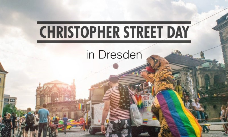 CSD Parade Dresden 2018 - So Lebt Dresden Video Dino