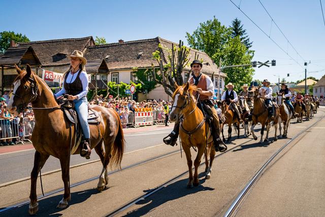 ©André Wirsig - Eines der Highlights des Karl May Festes. Die Sternenparade!