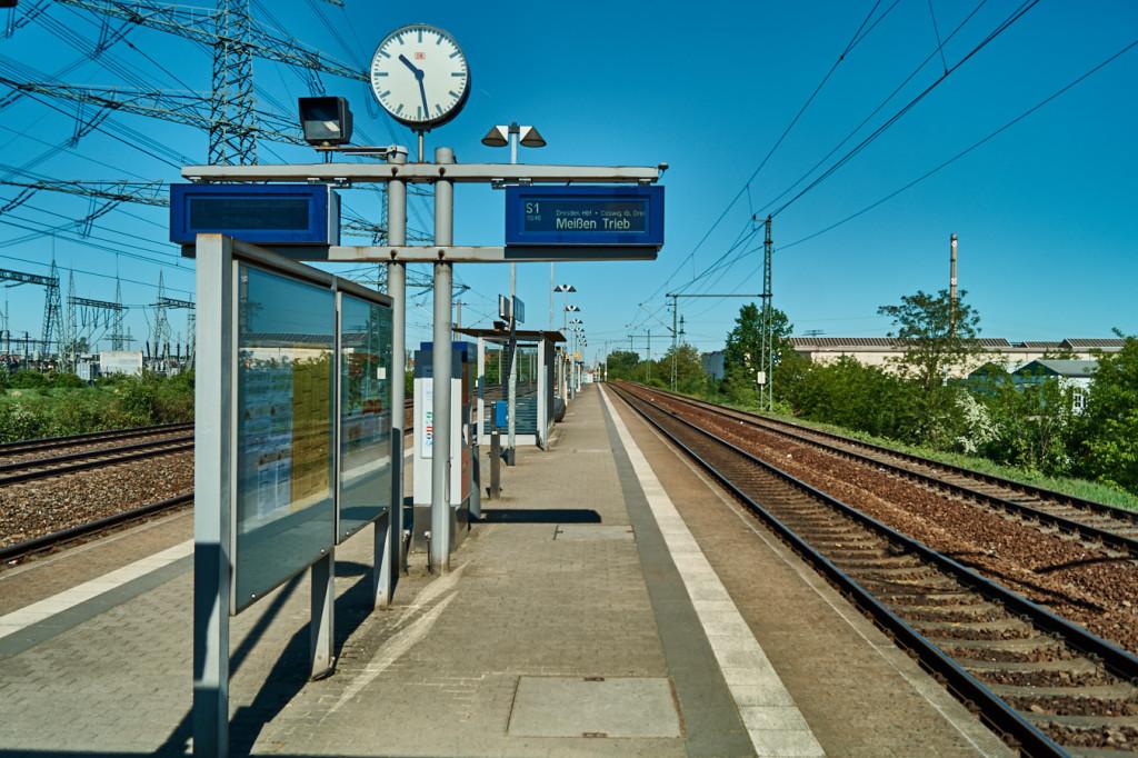 Bahnhof Zschachwitz in Dresden