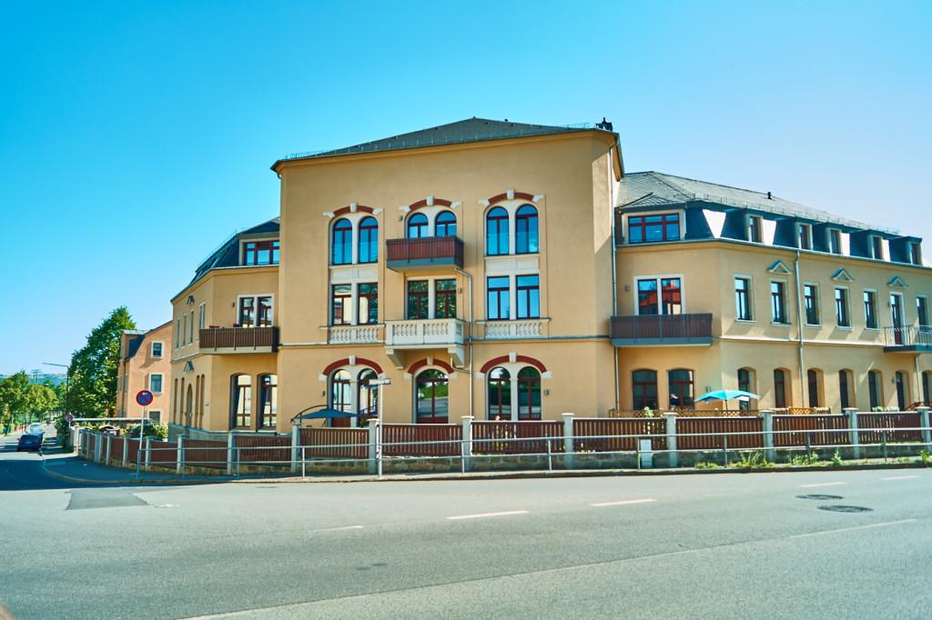 Ehemaliger Gasthof in Luga