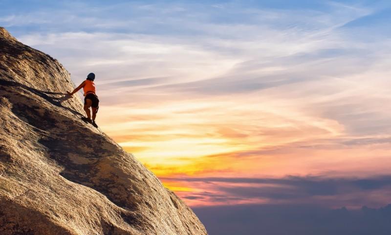 mountain-climber Klettern