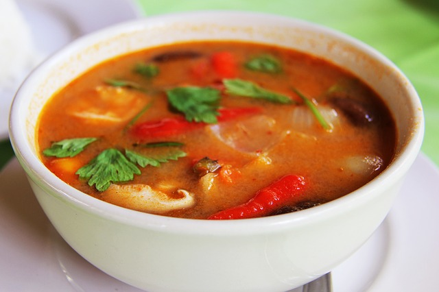 Das Curry ist eines der liebsten Gerichte im Taj Mahal!