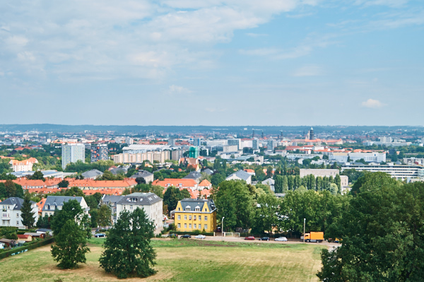 Aussichtturm in Dresden Zschertnitz