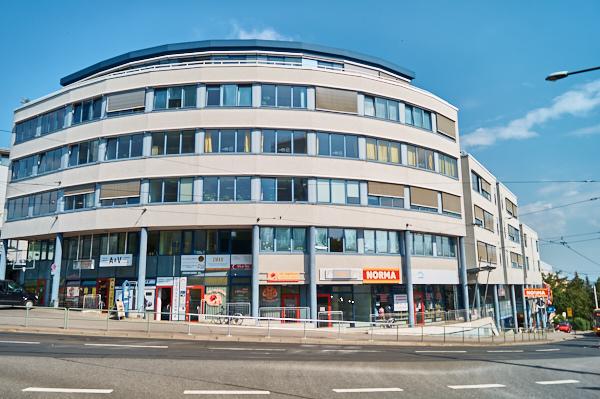 Einkaufszentrum in Zschertnitz