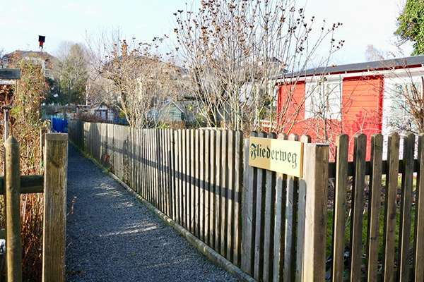 Kleingarten Fliederweg