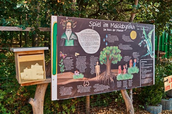 Rätselspaß im Maislabyrinth Moritzburg
