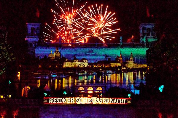 Das Highlight war natürlich das große Feuerwerk!