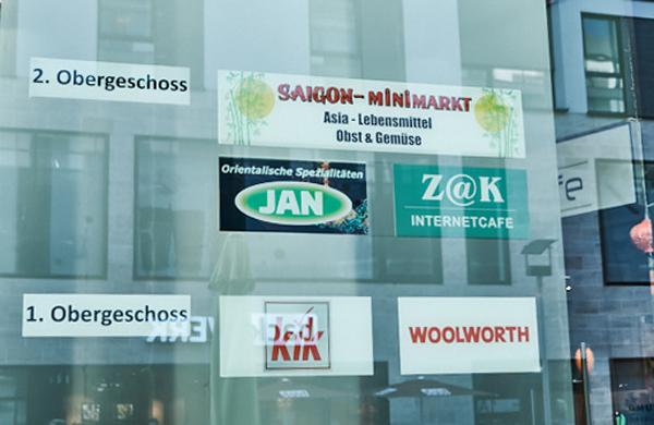 """Der orientalische Spezialitätenladen """"Jan"""" ist in der Einkaufspassage etwas versteckt."""